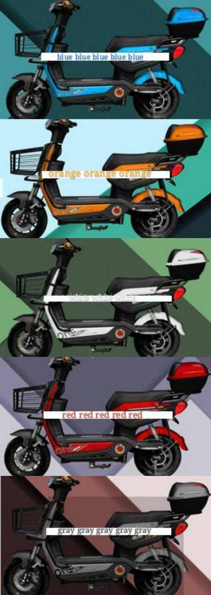 48V500W Pedal Assist Electric Bike / Scooter Lead Acid Battery