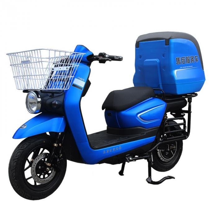 Functional Electric Mopeds And Scooters With Big Warm Keeping Rear Box