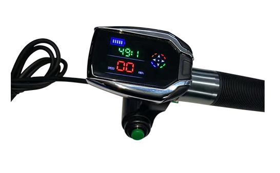 PC / ABS Electric Bike Spare Parts GPS LCD Throttle No Protocol Request , Headlight