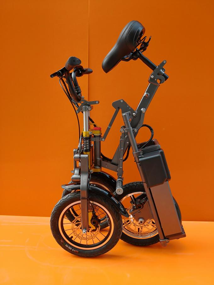 Two Wheels Front Foldable Electric Scooter For Adults With USB Charger