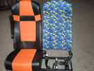 Brand New Luxury Coach Bus Seats 440MM Wide , Tour Bus Seats