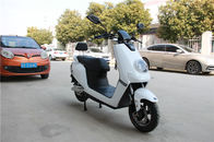 White Color Sleek Design Electric Moped For Adults 1200W DC Brushless Motor