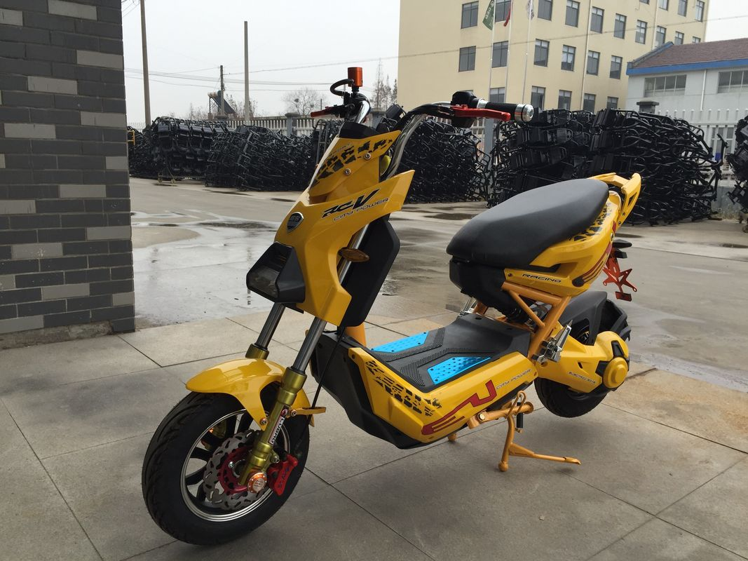 High Power Battery Operated Electric Scooter Motorcycle For Adults 45 - 50km/H