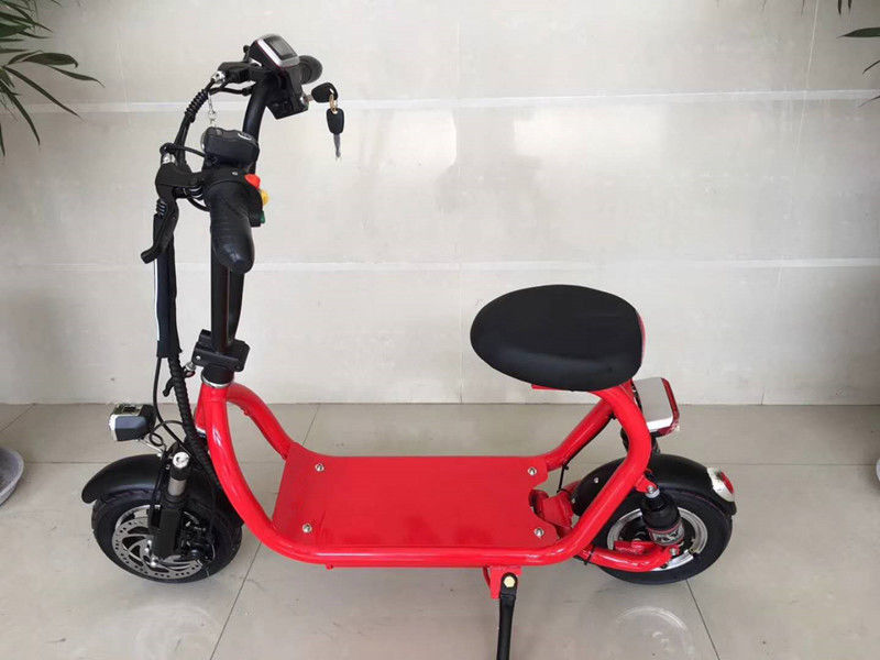 Popular 350W Electric Road Scooter Lithium Battery Mini Folding Electric Scooter