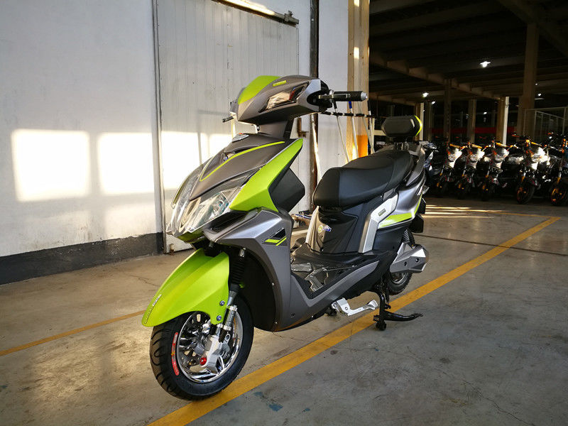 72V20AH Lithium Electric Scooter With Digital Odometer 2 Wheels