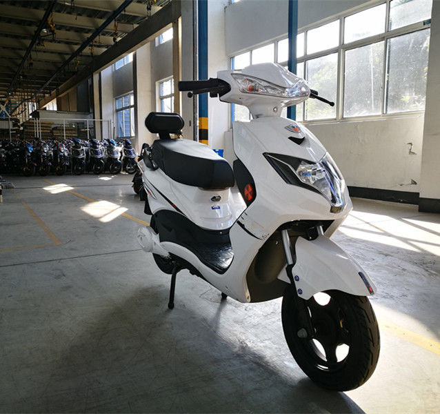 Lead Acid Pedal Assisted Electric Mopeds For Adults Street Legal