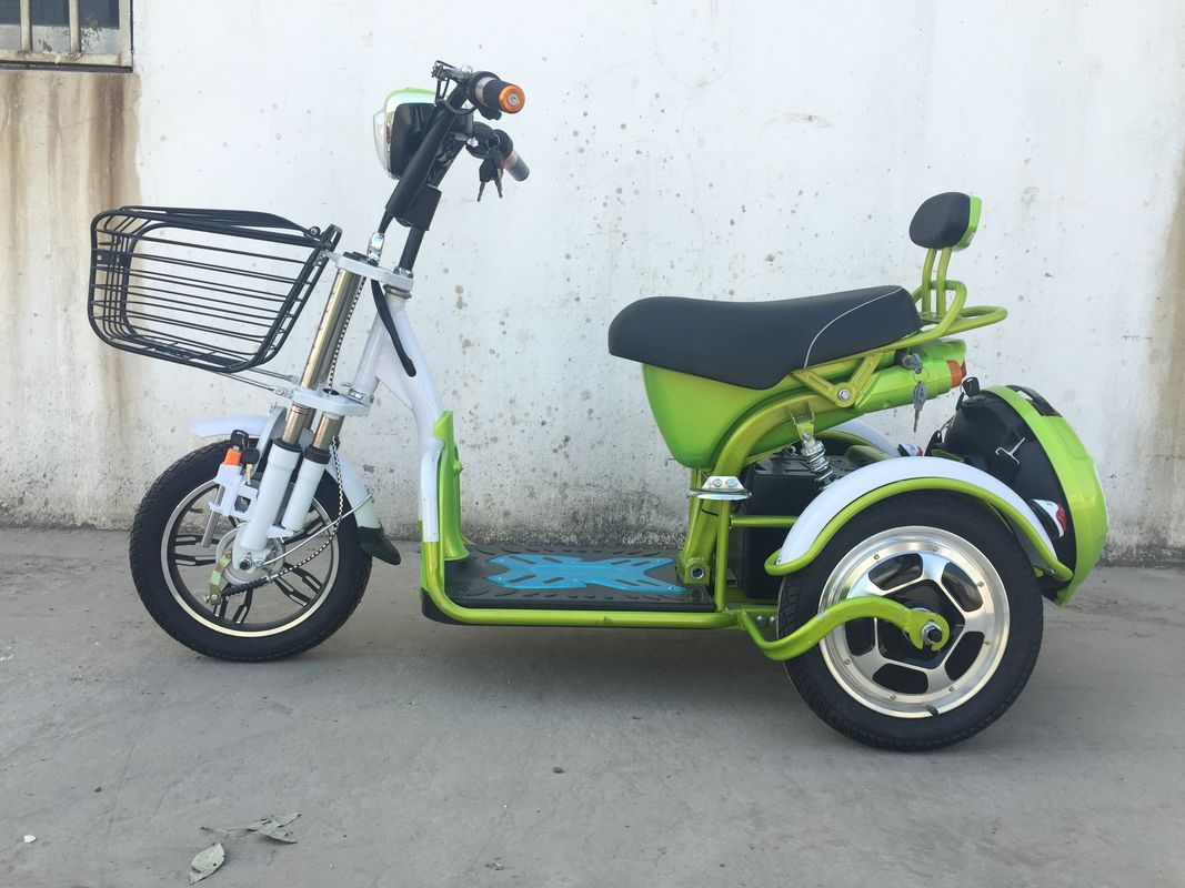 Drum Brake Electric Tricycle Scooter Senior Mobile Scooter 3 Wheels