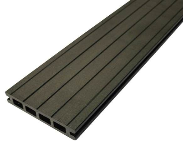 Pathway / Park WPC Composite Decking Waterproof Recycled Plastic Decking Boards