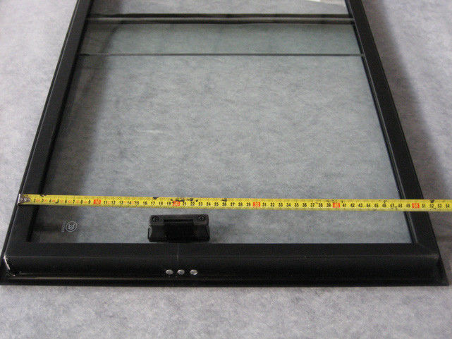 Aluminum Frame 5MM Tempered Glass Bus Spare Parts For Window