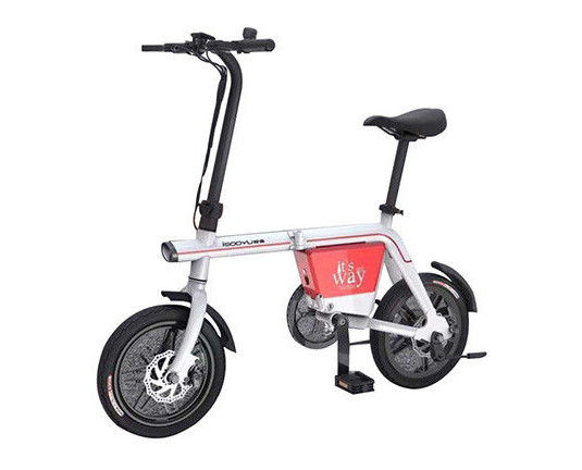 Lithium Battery Powered Bikes For Adults PPS With Pedal Battery Assist Bike