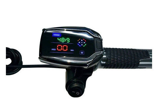 GPS LCD E Bike Thumb Throttle No Protocol Request With Speed Power And Time