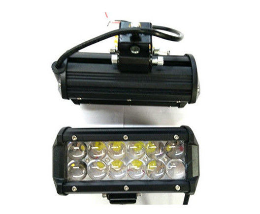 Black / Silvery Electric Bike Motorcycle Led Headlight 10-32V