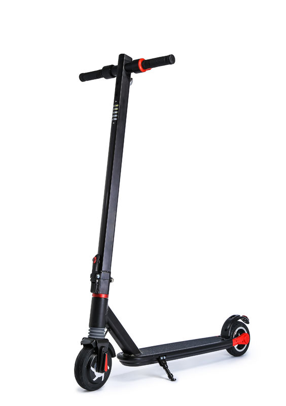 Black Color Portable Folding Electric Scooter I11 Simple And Stylish Appearance