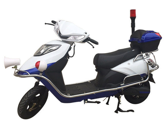Security Two Wheeled Patrol Electric Scooter Bike Moving And Lighting Motor GM026