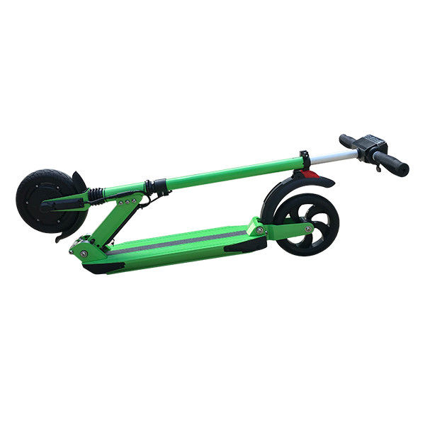 Green Two Wheel Self Balancing Scooter Foot Standing Fold Up Scooters Battery Mi 200