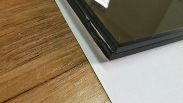 Fashion Construction Laminated Heat Tempered Glass 6+0.76+6MM Grey