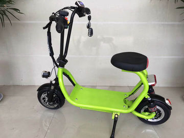 Mini ELithium Electric Scooter With Seat HALI With Candy Colour / 350w Motor