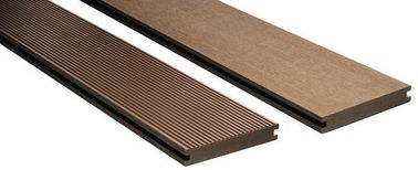 Low Maintenance WPC Composite Deck Boards / Recycled Plastic Decking