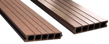 Outdoor Wpc Composite Timber Decking For Park , Garden , Seaside , Barkyard
