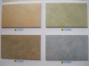 Indoor PVC Plastic Flooring With UV Coating Layer / Printed Layer