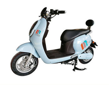 Cute Rear Backrest Electric Moped Scooter For Adults With LED Headlight