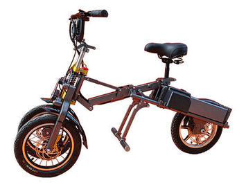 China Two Wheels Front Foldable Electric Scooter For Adults With USB Charger factory